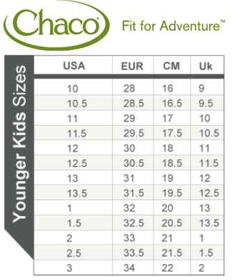 Chaco size chart hobit fullring co