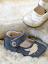 Livie & Luca Pio Pio Gray Baby Soft Sole