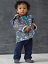 Hatley Retro Rockets Lined Raincoat (Baby/Toddler)