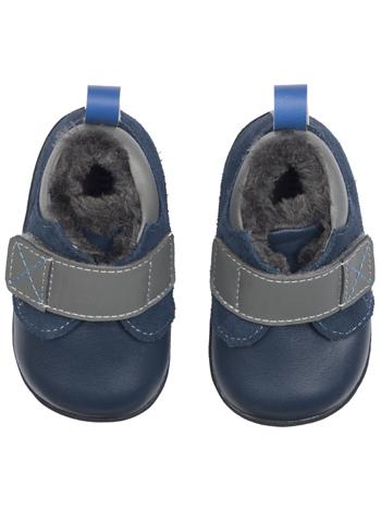 Chaussures classiques mais souples Smaller%20by%20See%20Kai%20Run%20Sanju%20Navy%20Top
