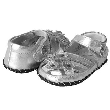 pediped Emily Silver pair 350