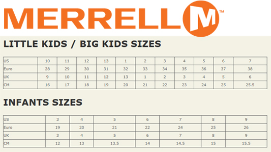 Kids Shoes Size Charts And Sizing Help Tinysoles
