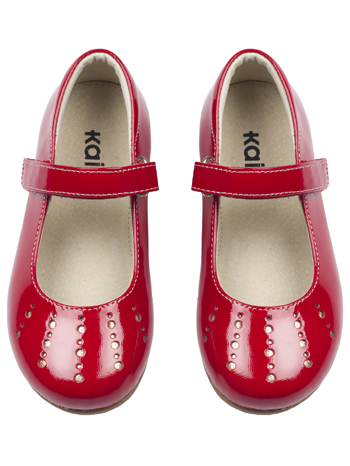 Kai by See Kai Run Kimmie Red - TinySoles c1e5e3293c9d