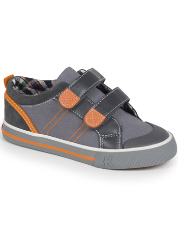 Kai by See Kai Run Hess II Gray/Orange