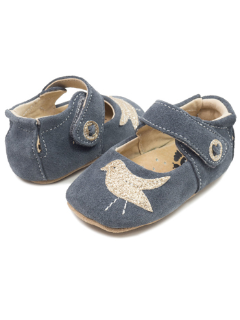 Livie & Luca Pio Pio Gray (Baby Soft Sole)