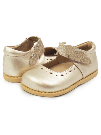 Livie & Luca Plume Gold Metallic Limited Edition (Toddler/Kids)