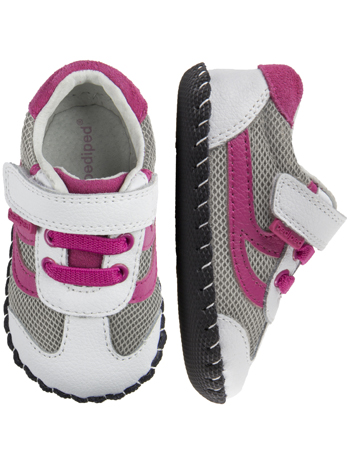 pediped Cliff White Fuchsia