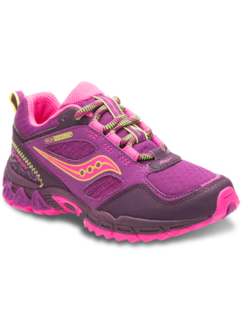 aaa78d3adfd7 Saucony Girls Excursion Berry Pink (Kids Youth) - TinySoles