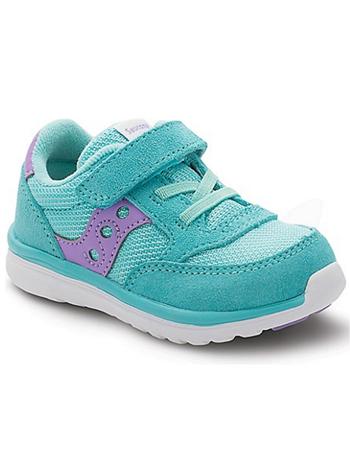 8b3fd48957b5 Saucony Baby Jazz Lite Turquoise Purple (Toddler Kids) - TinySoles