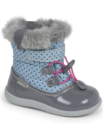 See Kai Run Abby Light Blue/Gray