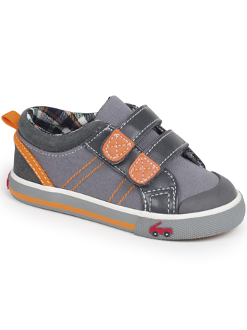 See Kai Run Hess II Gray/Orange