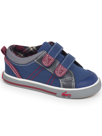 See Kai Run Hess II Navy/Burgundy