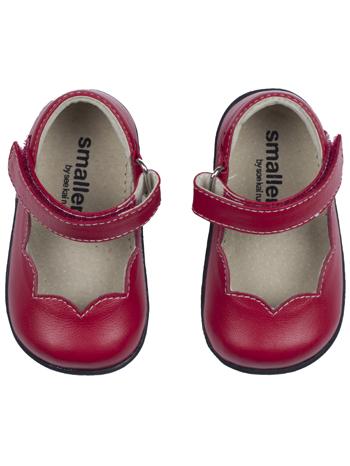 Smaller Steps By See Kai Run Clara Red - TinySoles dea0a1001a58