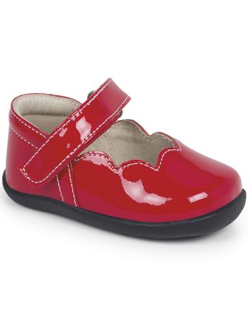 Smaller Steps By See Kai Run Savannah Red Patent - TinySoles 5036a8201e7e