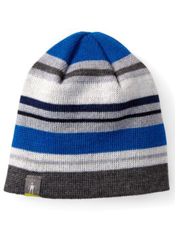 SmartWool Kids Bootie Hat Bright Blue
