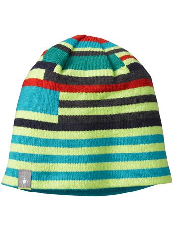 8751a32e819 SmartWool Kids Wintersport Stripe Hat Smartwool Green - TinySoles