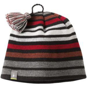 3d73b120bfb SmartWool Kids Wintersport Stripe Hat Black - TinySoles