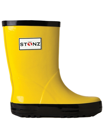 Stonz Rain Bootz Yellow/Black