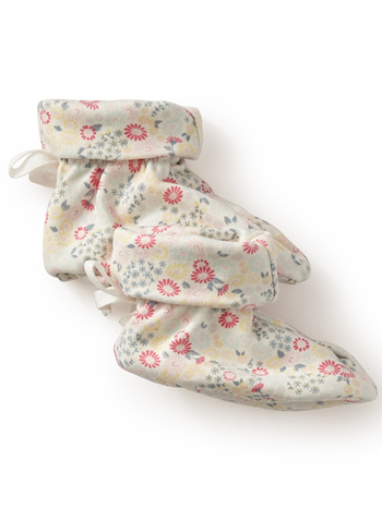 Tea Collection Aiuola Booties (Baby Girls)