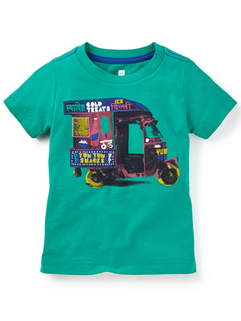Tea Collection Auto Rickshaw Photo Tee