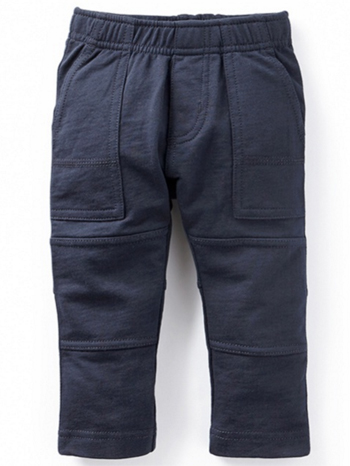 Tea Collection Baby Knit Playwear Pants Heritage Blue (Baby Boys)