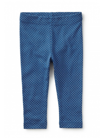 Tea Collection Dotty Capri Leggings Cobalt (Girls)