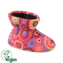 Acorn Easy Bootie Pink Dots