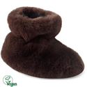 Acorn Tex Easy Bootie Brown Bear