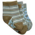 BabyLegs Earth Organic Baby Socks 2 Pack
