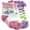 BabyLegs Lavender and Lace Organic Baby Socks 2 Pack