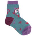 Country Kids Big Owl Socks Teal