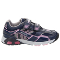Geox Ascari Girl Navy Pink Junior