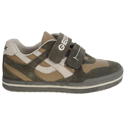 Geox Elvis Dark Green Beige Junior