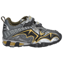 Geox Light Eclipse Boys Dark Grey Yellow Infant