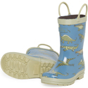 Hatley Blue Dino Rain Boots 
