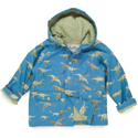 Hatley Blue Dino Lined Raincoat