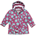 Hatley Blue Flowers Lined Raincoat