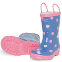 Hatley Butterfly Dots Rain Boots 