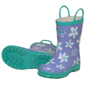 Hatley Crafty Flowers Rain Boots 