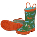 Hatley Crazy Lizards Rain Boots 