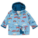 Hatley Farm Trucks Lined Raincoat