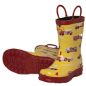 Hatley Fire Trucks Rain Boots