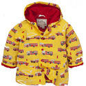 Hatley Fire Trucks Lined Raincoat