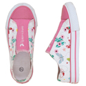 Hatley &quot;Social Butterfly&quot; Flying Butterflies Canvas Shoes 