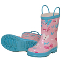 Hatley Flying Butterflies Rain Boots 