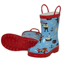 Hatley Pirate Dogs Rain Boots