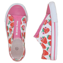 "Hatley ""Berry Sweet"" Summer Strawberries Canvas Shoes"