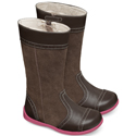 Kai by See Kai Run Heather Brown Boots