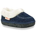 Kamik Cozy Cabin Navy Slippers