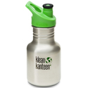 Klean Kanteen 12oz Sport Cap Brushed Stainless